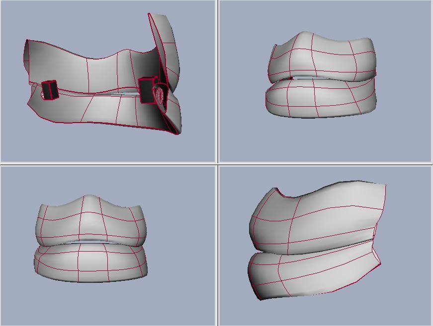 Remote jaw mask development