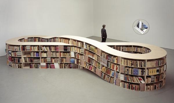 Infinity bookcase
