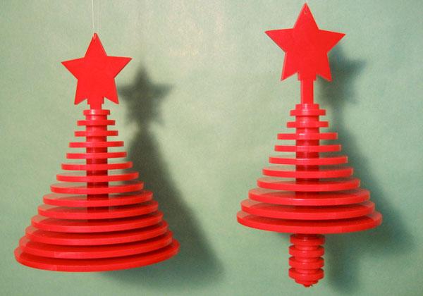 Tree ornaments via laser
