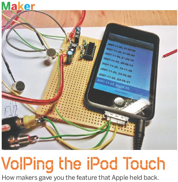 VoIPing the iPod Touch – How makers gave you the feature that Apple held back
