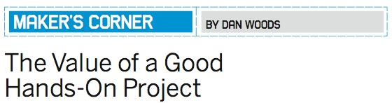 """MAKE 2008 gift guide from MAKE volume 16 & """"The value of a good hands on project"""""""