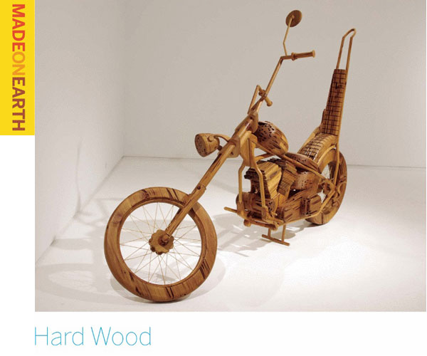 Hard Wood – Vehicles made from wood