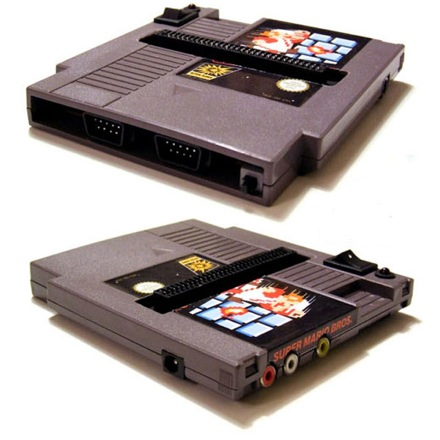 Entire NES stuffed into its cartridge kinda makes you cry