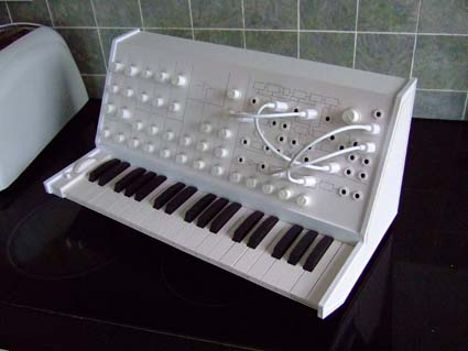 Precisely rendered paper synth