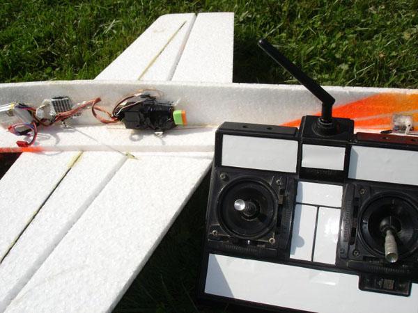 Arduino powered R/C airplane