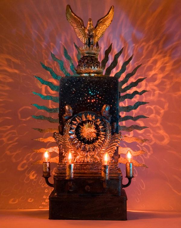 Light sculptures by Mark Soppeland