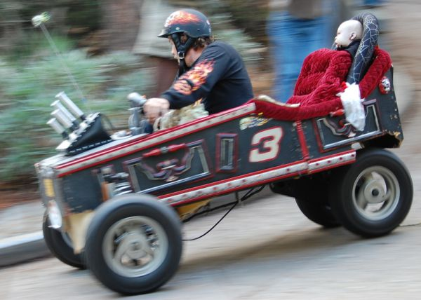 Really illegal soapbox derby