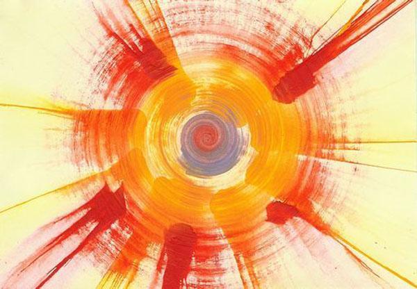 Make a spin art machine