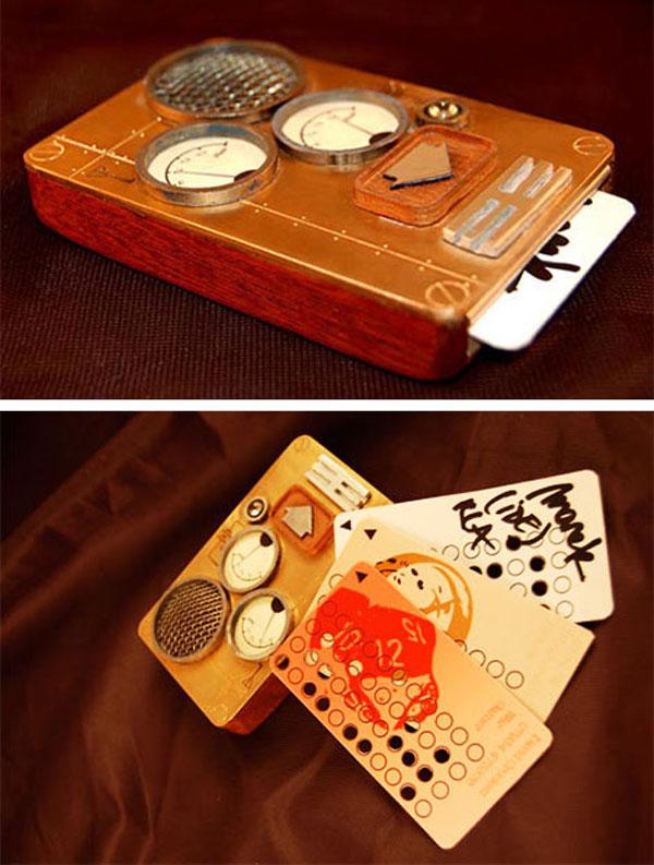 Steampunk mobile phone