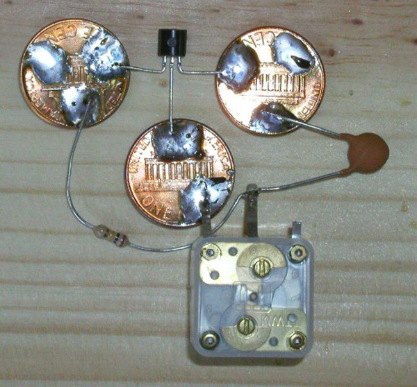 Build a three penny radio that costs more than three pennies