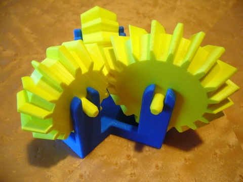 TriGears – 3D printed puzzle co-created by BitTorrent inventor