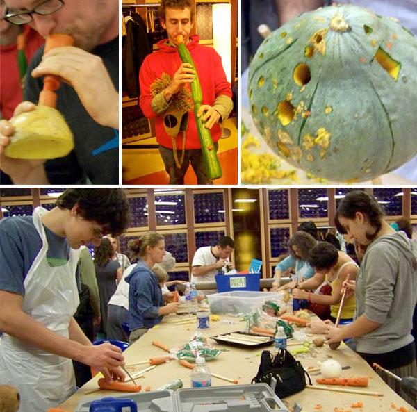 Vegetable Instrument Workshop