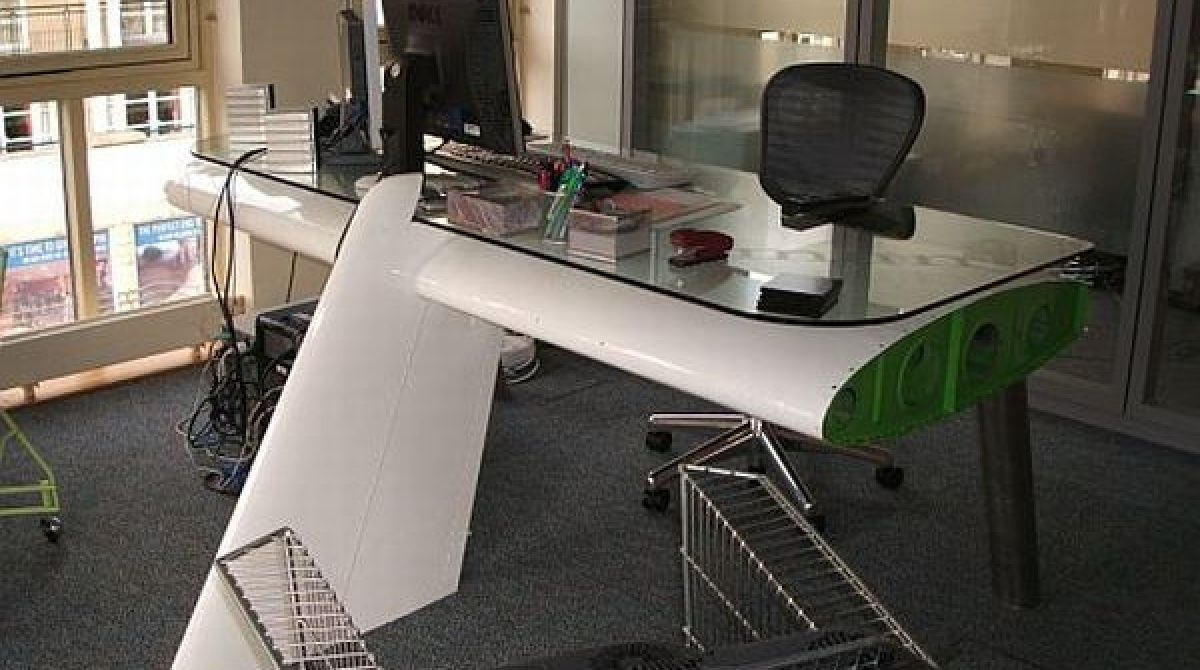 Airplane Wing Desk airplane wing desk | make: