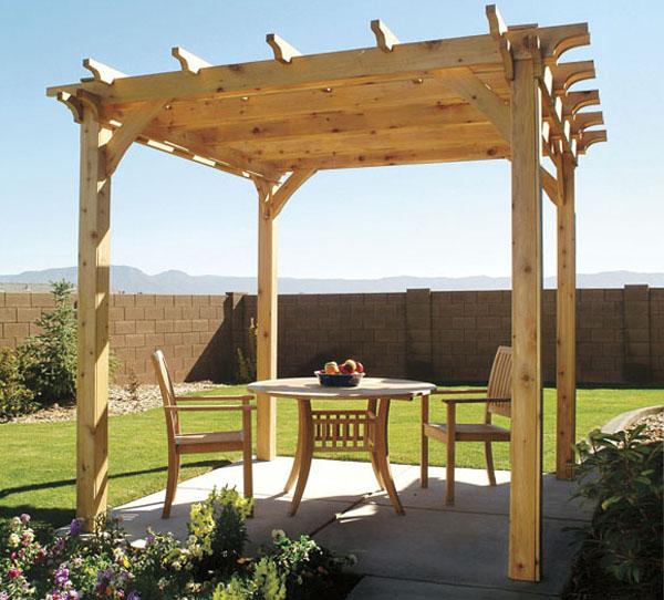 How to Build a Backyard Pergola
