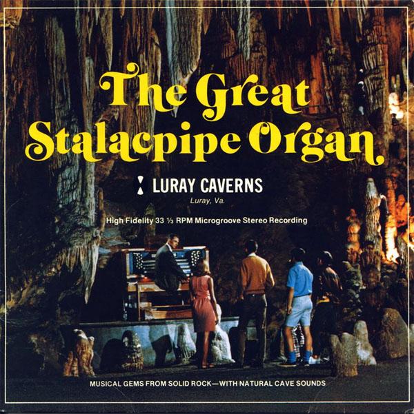 Luray's cave-strument