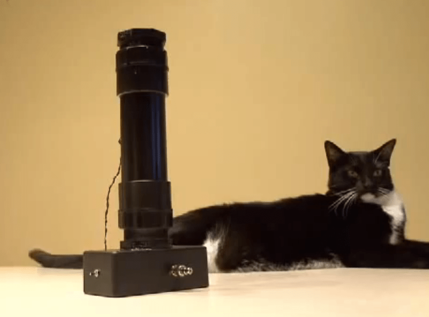 Weekend Project: Make a Lensless Microscope