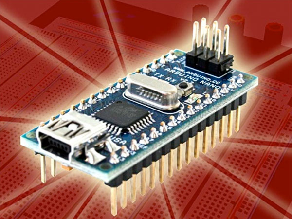 New in the Maker Shed – Arduino Nano + TouchShield Stealth