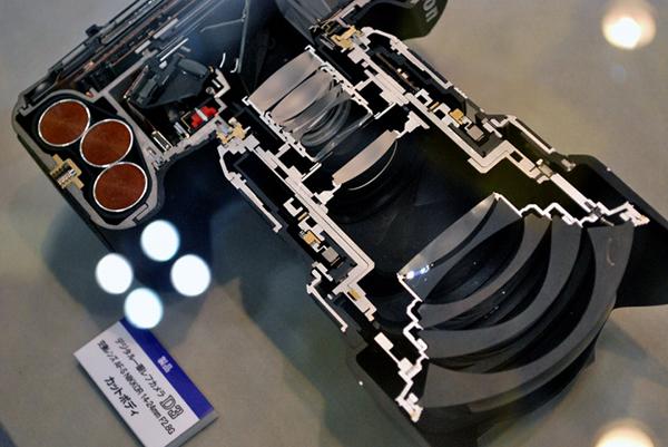 What's inside: Nikon D3 cutaway