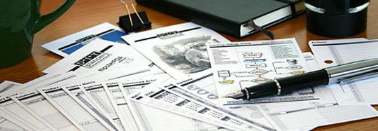 Free, print n' make personal organizing tools