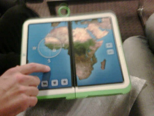 Picture of the XO-2 OLPC