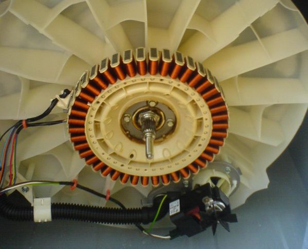 Scavenging motors from washing machines