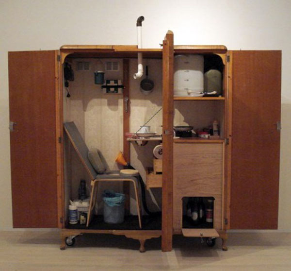 How-to: Escape from reality in an old wardrobe