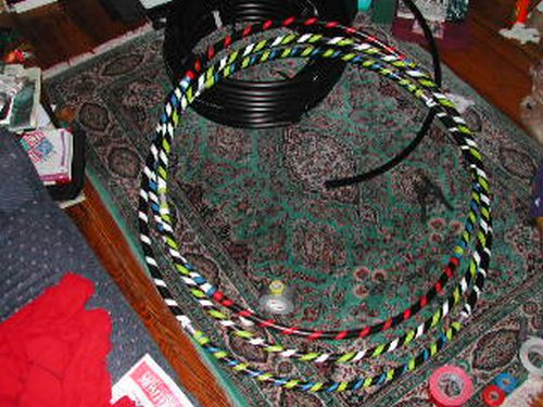Collapsible hoops