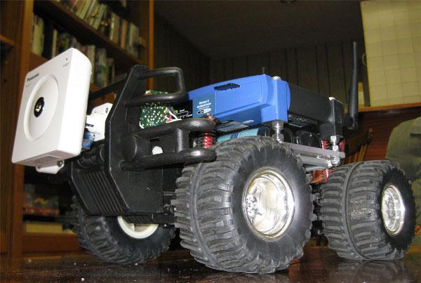 Wifi robotified rc car