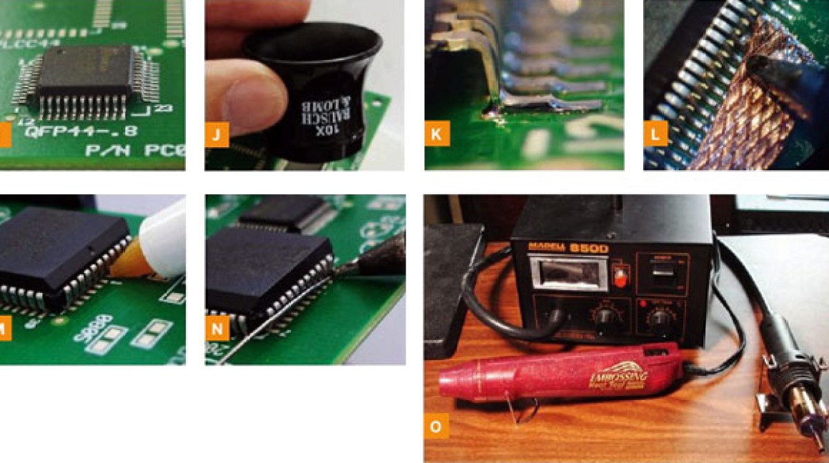 How To Tuesday Surface Mount Soldering Make Circuit Board Repairs Power Supply Industrial Electronics Variable Article Featured Image