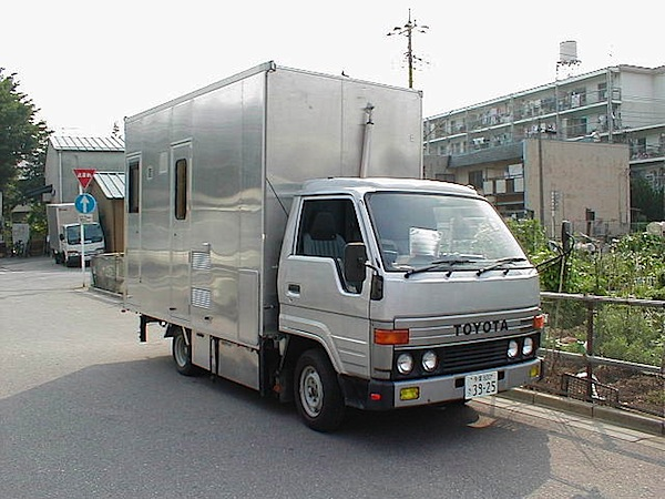 Homemade Japanese RV