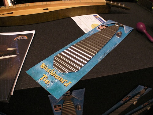Washboard tie – that's all folks!
