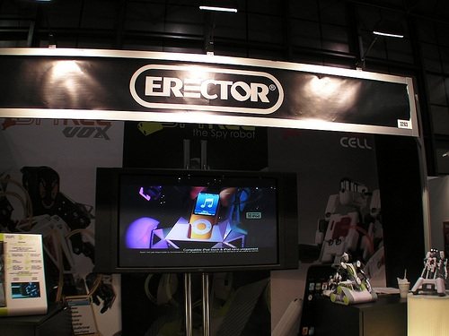 The Erector set is now a talking iPod dock robot