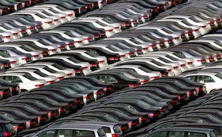 Unsold cars around world
