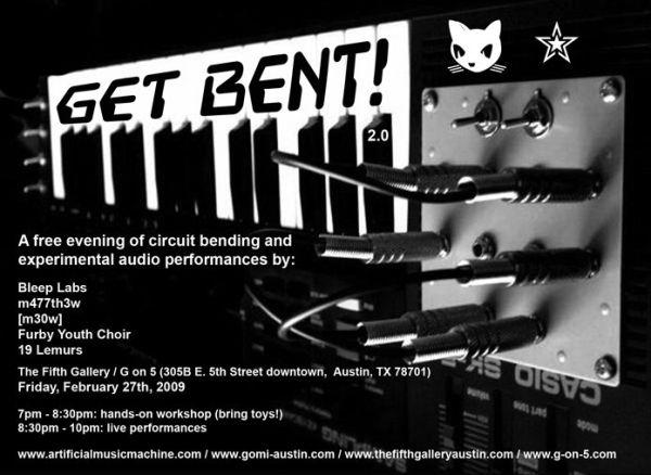 Austin event: get (circuit) bent