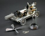 Update: Gakken Stirling engine build