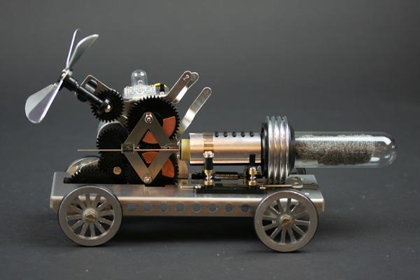 In the Maker Shed: Gakken Stirling engine kit