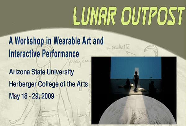 Wearables and interactive performance workshop at ASU