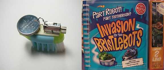 """Note from Scholastic & Klutz on """"BristleBots"""" (update 2)"""