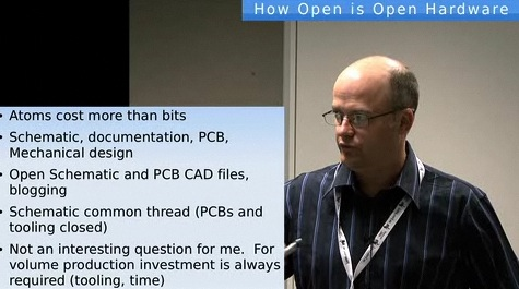 David Rowe on Open Hardware business models (video)