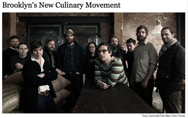 Brooklyn's new culinary movement