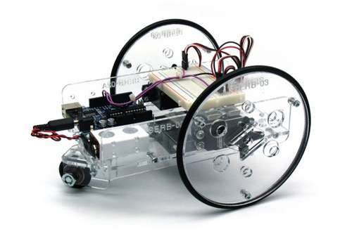 Arduino controlled servo robot kit