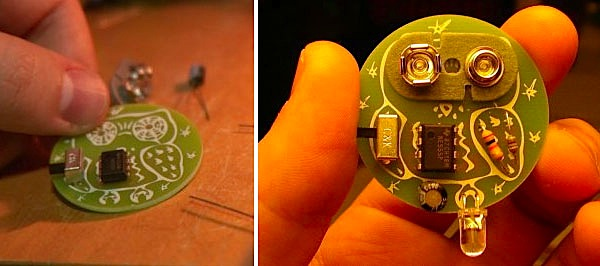 Art-record animates with a kit