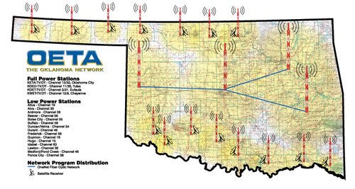 Make: television arrives in Oklahoma!