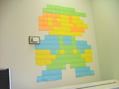 Fun with sticky notes…