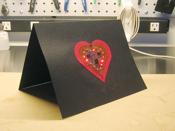 Electronic Valentine's Day card