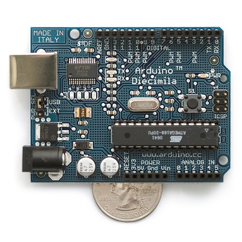 Interactive retail environments with Arduino – workshop led by Massimo Banzi
