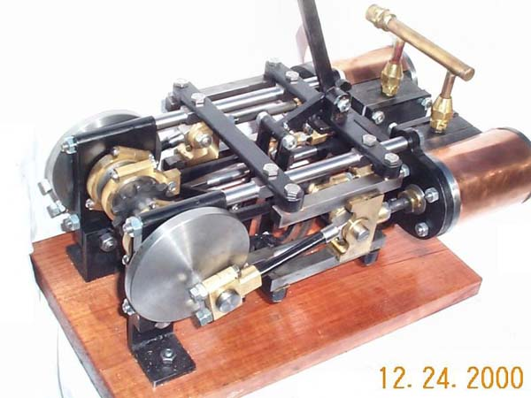 Bob Jorgensen's steam projects