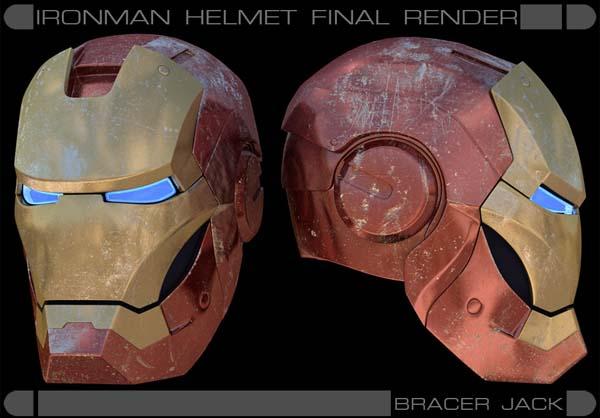 Iron Man 3D modeling tutorial