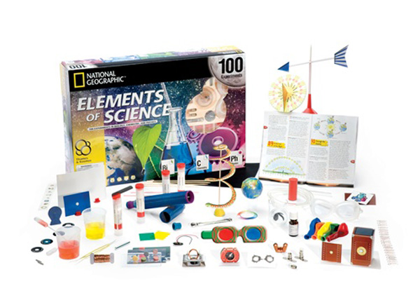 In the Maker Shed: Elements of Science Kit