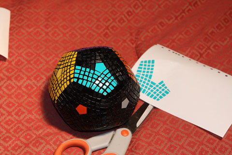 Mind-blowing homemade dodecahedral puzzle